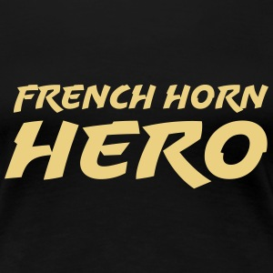 French horn hero T-shirts - Premium-T-shirt dam