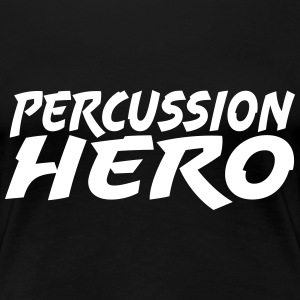 Percussion Hero T-shirts - Premium-T-shirt dam