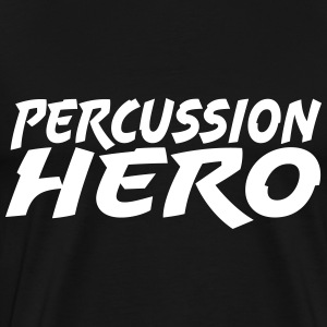 Percussion Hero T-shirts - Mannen Premium T-shirt