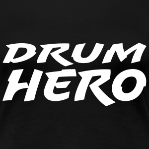 Drum Hero T-shirts - Vrouwen Premium T-shirt