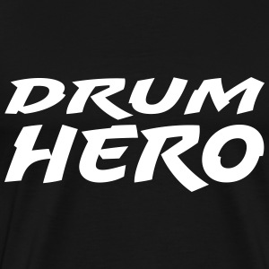 Drum Hero T-shirts - Mannen Premium T-shirt