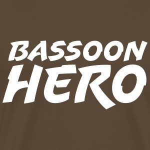 Bassoon Hero T-shirts - Mannen Premium T-shirt