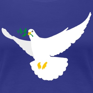 Peace Dove - Women's Premium T-Shirt