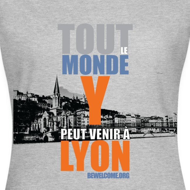 Mens Bewelcome T-Shirt (Lyon/ All Colors).