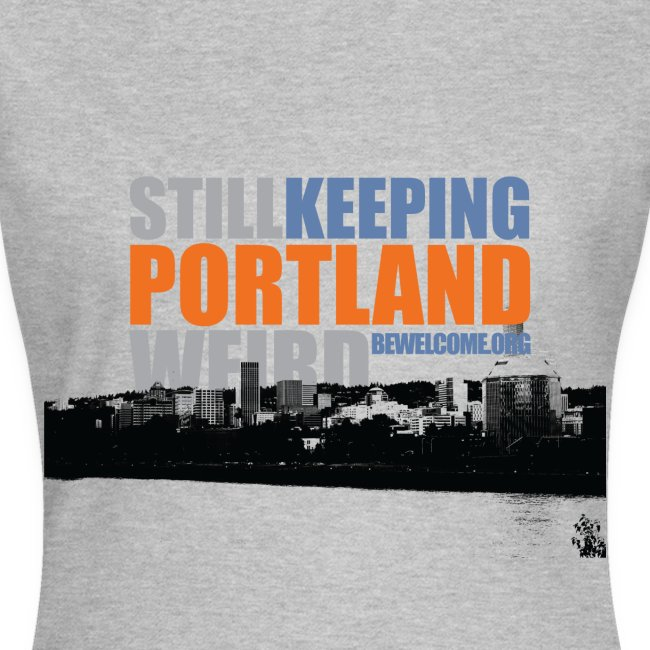 Womens Bewelcome T-Shirt (Portland/ All Colors).