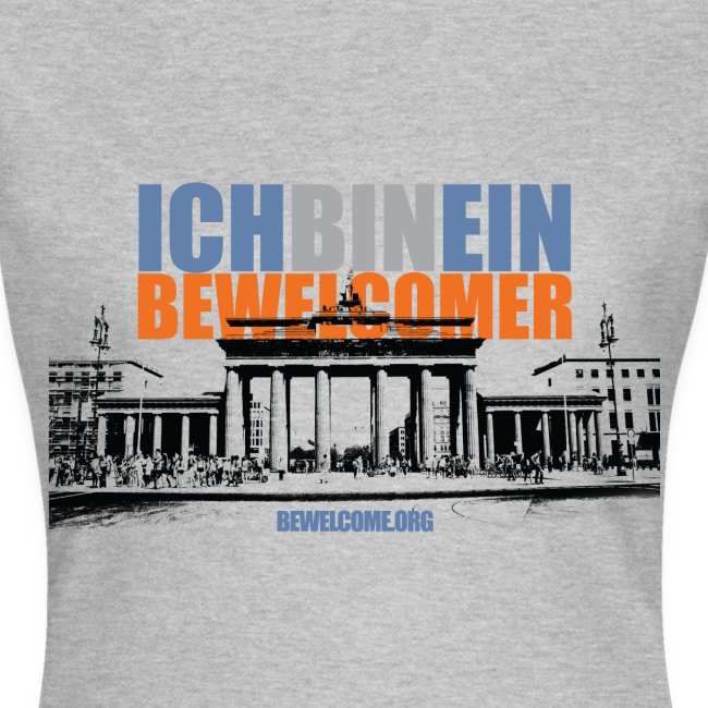 Womens Bewelcome T-Shirt (Berlin/ All Colors).