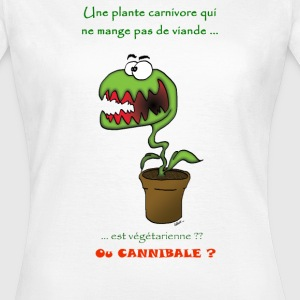 Plante cannibale Tee shirts - T-shirt Femme