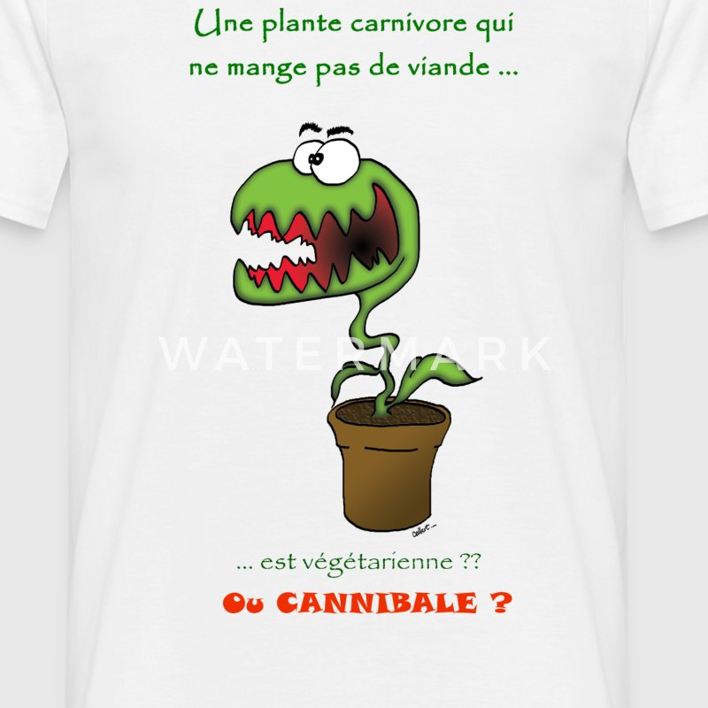 Plante cannibale Tee shirts - T-shirt Homme