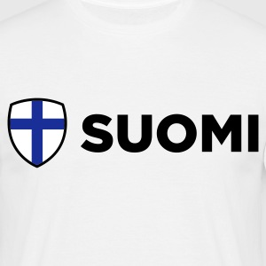 National Flag Finland T-shirts - Herre-T-shirt