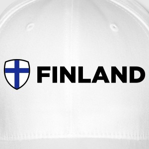 National Flag of Finland Caps & Hats - Flexfit Baseball Cap