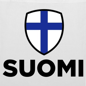 National Flag of Finland Bags & Backpacks - Tote Bag