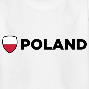 National Flag Polen T-shirts - Teenager-T-shirt