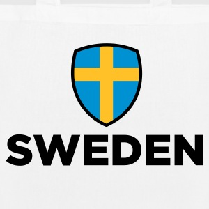 National flag of Sweden Bags & Backpacks - EarthPositive Tote Bag