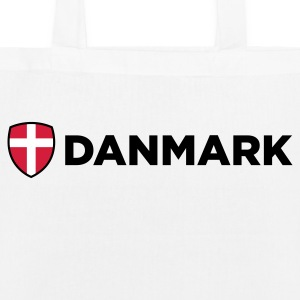 National flag of Denmark Bags & Backpacks - EarthPositive Tote Bag