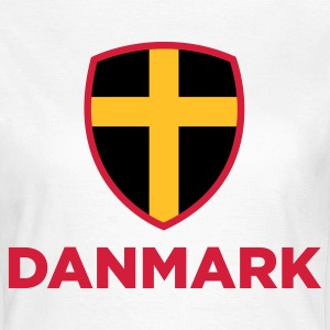 Nationale flag Danmark T-shirts - Dame-T-shirt