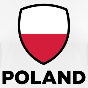 National Flag of Poland T-Shirts - Women's Breathable T-Shirt