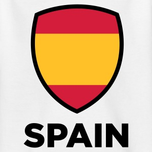National Flag of Spain Shirts - Teenage T-shirt