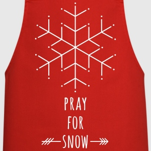Pray for Snow  Aprons - Cooking Apron