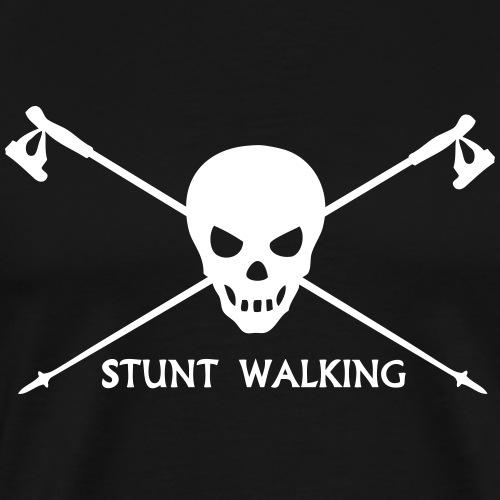 Stunt Walking - Nordic Walking Stöcke Totenkopf