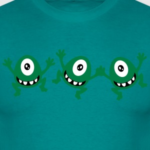 celebrate cute sassy little cyclops monster party  T-Shirts - Men's T-Shirt