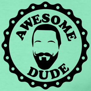 Siegel awesome dude Vers.harry T-Shirts - Männer T-Shirt
