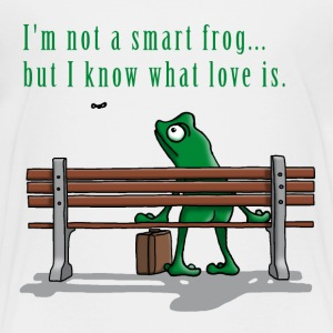 frog_is_as_frog_does_112015_b T-Shirts - Kinder Premium T-Shirt
