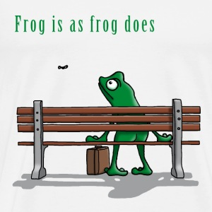 frog_is_as_frog_does_112015_c T-Shirts - Männer Premium T-Shirt