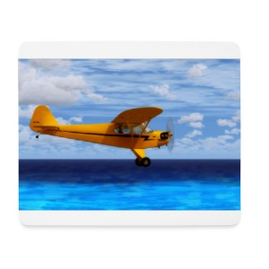 piper airplane mousepad - Mousepad (Querformat)