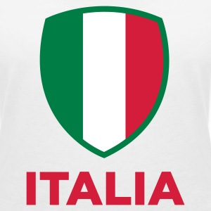 National flag of Italy T-Shirts - Women's V-Neck T-Shirt