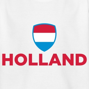 National Flag af Holland T-shirts - Teenager-T-shirt