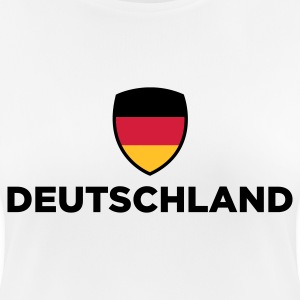 National flag of Germany T-Shirts - Women's Breathable T-Shirt