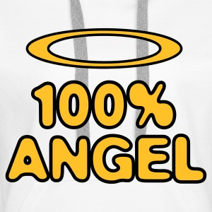 100 Percent Ange! Sweat-shirts - Sweat-shirt à capuche Premium pour femmes