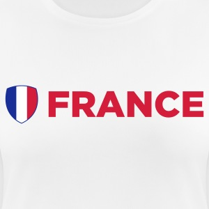 National Flag of Frankfreich T-Shirts - Women's Breathable T-Shirt