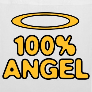 100 Percent Angel! Bags & Backpacks - Tote Bag