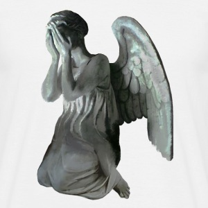 Weeping angel statue - doctor who - Männer T-Shirt