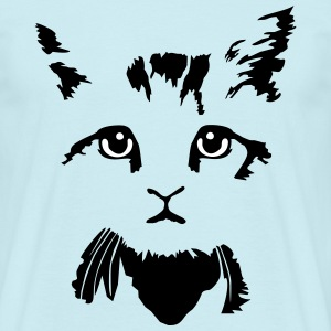 cat, kitten - 2 colours T-Shirts - Men's T-Shirt
