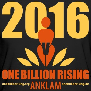 One Billion Rising 2016 Anklam 2 - Frauen Bio-T-Shirt