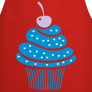 Sweet Cherry cupcake Cooking Apron - Cooking Apron