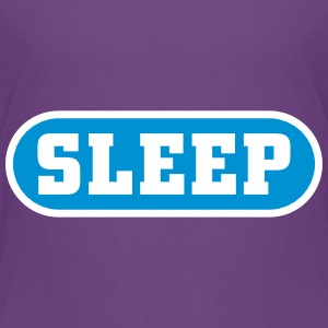 Sleep Button T-shirts - Børne premium T-shirt