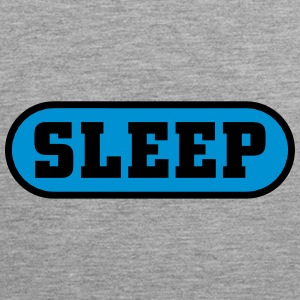 Sleep Button Tanktops - Mannen Premium tank top