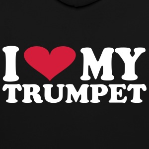 I Love My Trumpet - Contrast Colour Hoodie