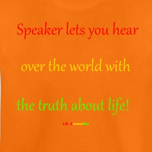Speaker lets you hear - Teenager Premium T-shirt