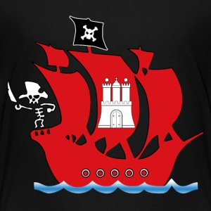 piratenschiff hamburg T-Shirts - Kinder Premium T-Shirt