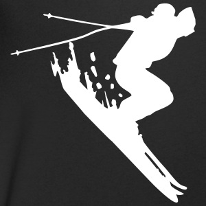 skiing, skier T-Shirts - Men's V-Neck T-Shirt
