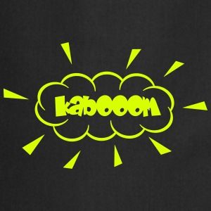 Kaboom mit Staubwolke / kabooom with cloud (1c)  Aprons - Cooking Apron