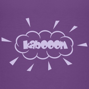 Kaboom mit Staubwolke / kabooom with cloud (1c) Shirts - Kids' Premium T-Shirt