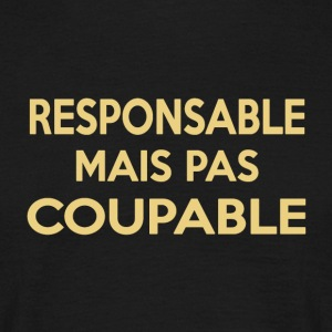 Responsable - T-shirt Homme