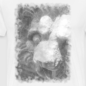 Stone lion head T-Shirts - Men's Premium T-Shirt