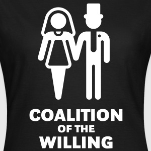 Coalition Of The Willing, Girlie-T-Shirt - Women's T-Shirt