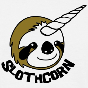 Slothcorn = Sloth + Unicorn T-Shirts - Männer T-Shirt